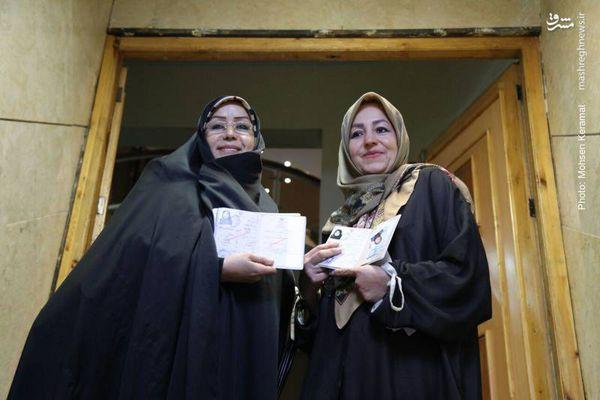 عکس/ دو خواهری که نامزد ریاست جمهوری شدند