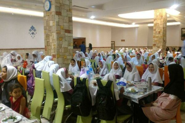 افطار ۸۰۰۰ نفری ویژه میلاد امام حسن مجتبی (ع) در آق قلا