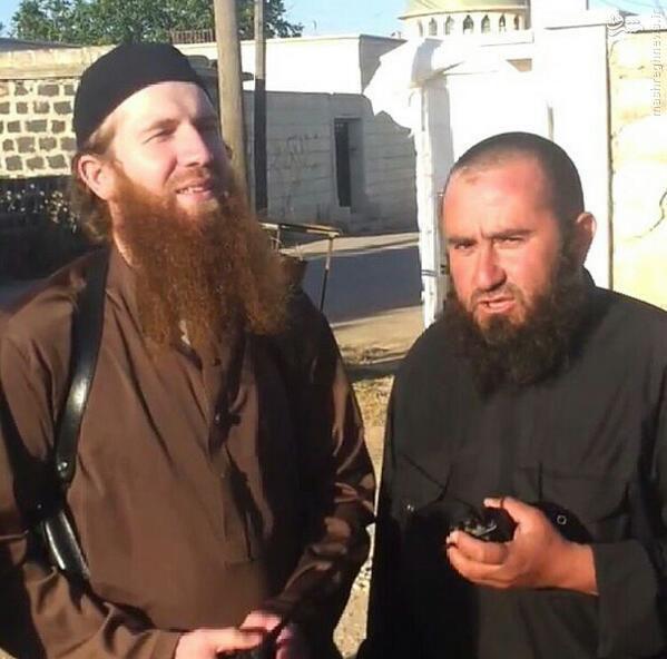 ستاره ریشقرمز داعش کیست +عکس