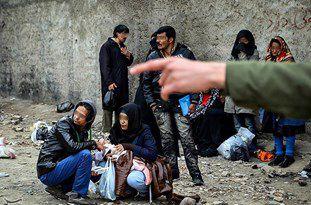 بازار گرم فروش مواد مخدر در کوچه پسکوچههای شهر