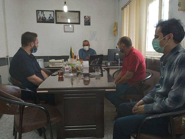 نشست هم اندیشی فعالین فضای مجازی شهرستان کلاله با رئیس اداره بهزیستی