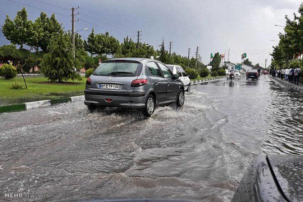 ورود سامانه بارشی به گلستان از سه شنبه/احتمال آبگرفتگی معابر