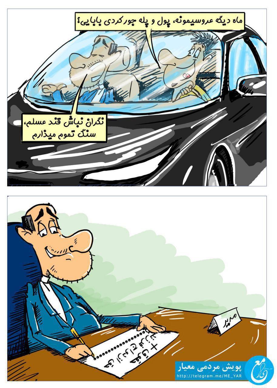 کاریکاتور تجمل گرایی (7)